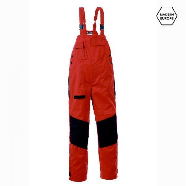 Radne farmer hlače SPEKTAR, crvene