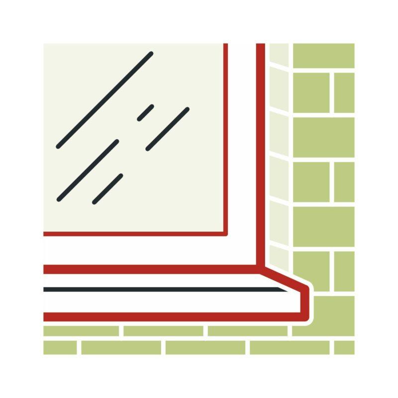 illbruck građevinski silikon FA151 310ml prozirni