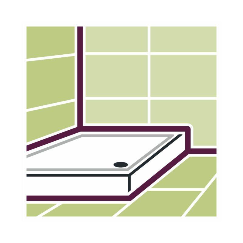 illbruck GS241 sanitarni i silikon za staklo 310ml bijeli