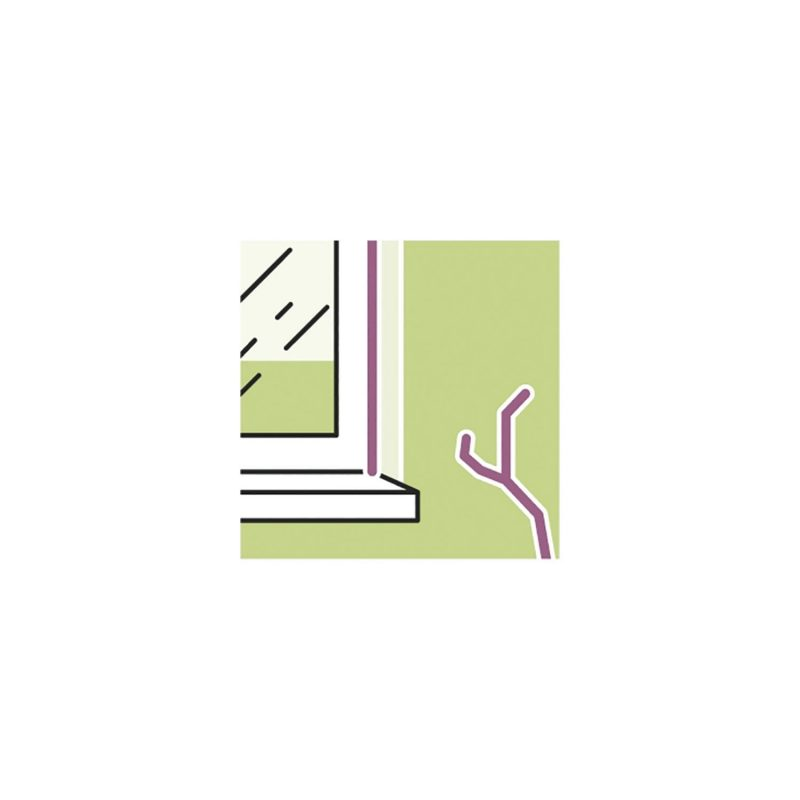 Illbruck soboslikarski akril LD703 15% 310ml, bijeli