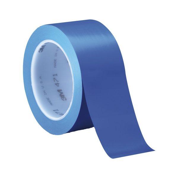 3M mekana-PVC ljepljiva traka 471 0,12mm x 50mm x 33m plava