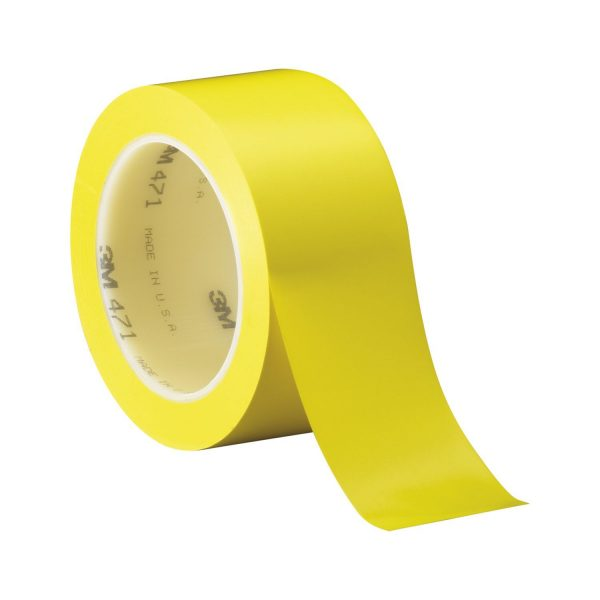3M mekana-PVC ljepljiva traka 471 0,12mm x 50mm x 33m žuta
