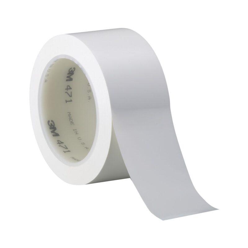 3M mekana-PVC ljepljiva traka 471 0,12mm x 50mm x 33m bijela
