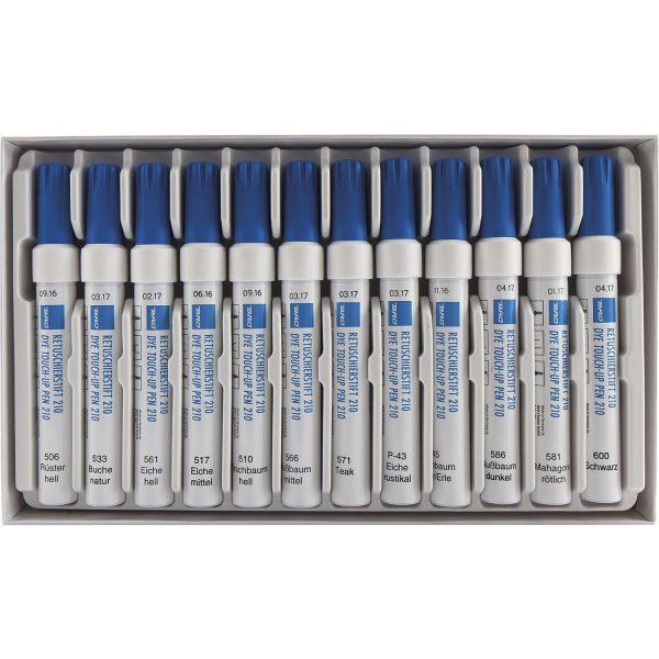 Set olovki za korekciju ogrebotina na drvu