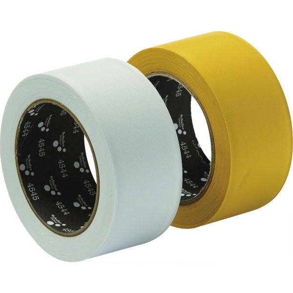 Građevinska ljep. traka PVC UV-otporna i poprečno rebrasta, bijela 50 mm x 33 m