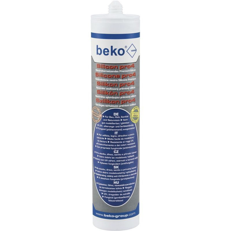 BEKO Premium silikon pro4 310 ml proziran
