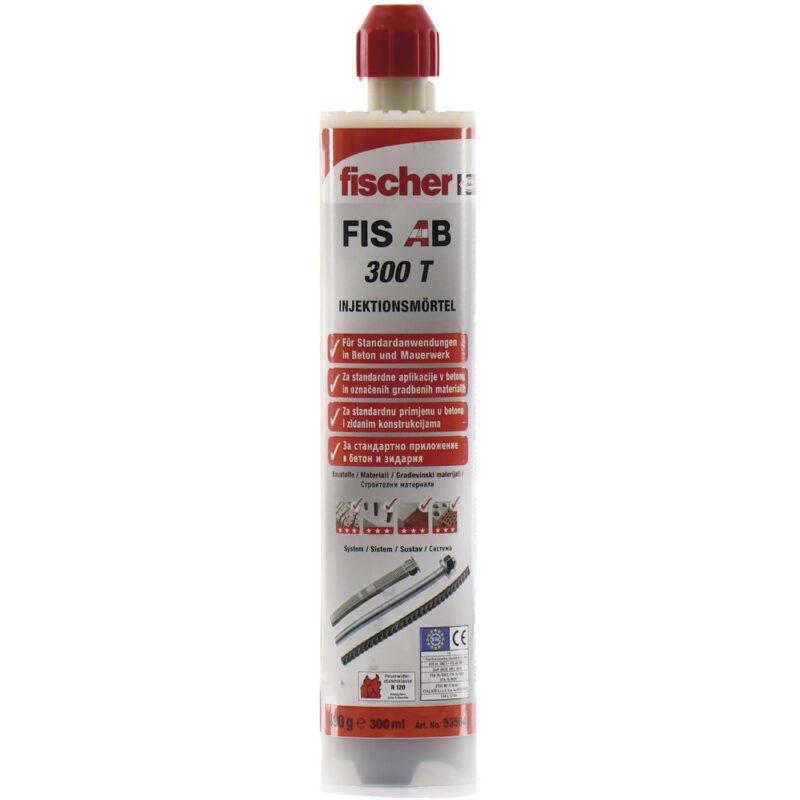 FISCHER FIS AB 300 T sustav ubrizgavanja 300 ml s odobrenjem za beton
