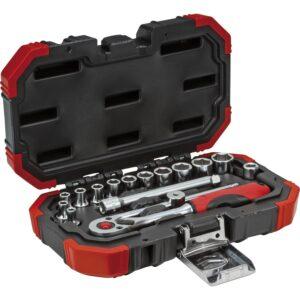 """GEDORE RED set nasadnih ključeva 1/4"""", R4900 s reverz. račnom, 16-dijelni,"""