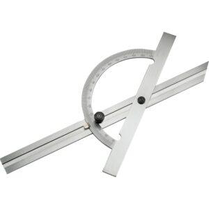Kutomjer 200 mm, područje mjerenja 10-170º