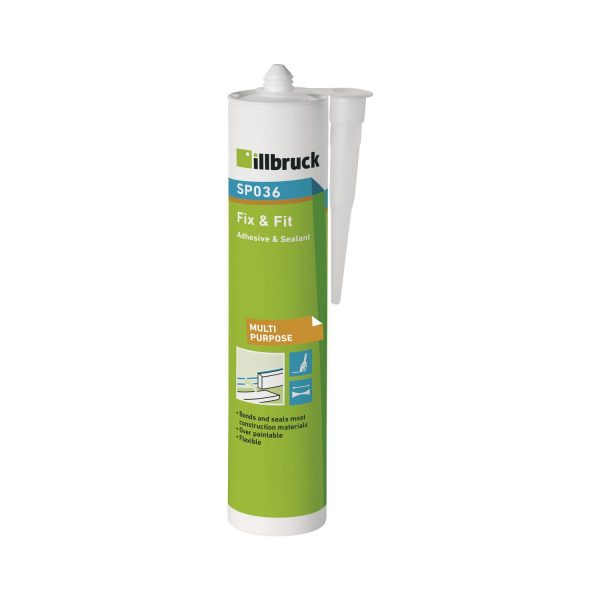 illbruck Fix & Fit ljepilo i brtvilo SP036 310 ml, sivo
