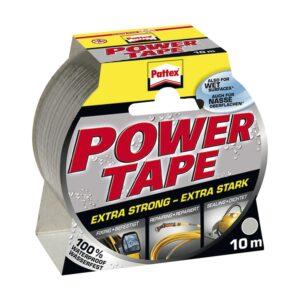 Ljepljiva traka Pattex-Power Tape siva 50 mm x 10 m