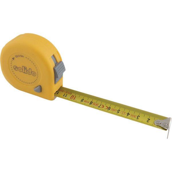 SOLIDO izvlačni metar, 5 m x 19 mm, EG klasa točnosti II