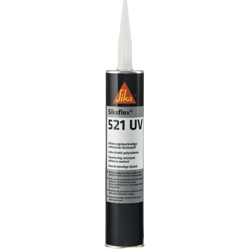 Sikaflex-521 UV 300 ml crni