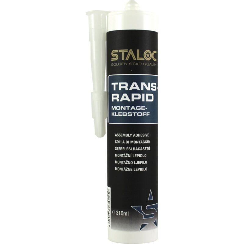 STALOC PU montažno ljepilo Trans Rapid 310ml prozirno