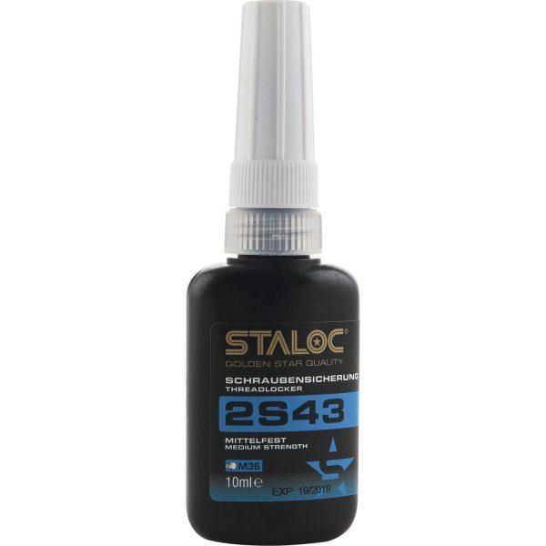 STALOC 2S43 brtvena masa za vijke srednja čvrstoća 10 ml