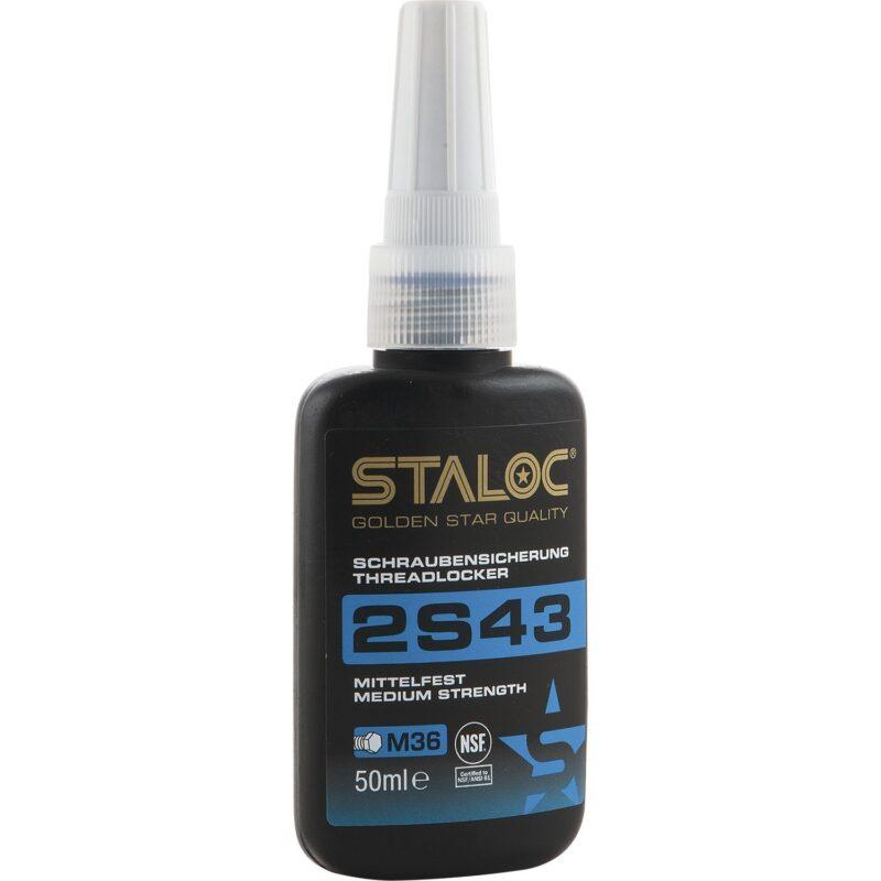 STALOC 2S43 brtvena masa za vijke srednja čvrstoća 50 ml