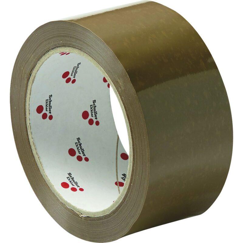 Ljepljiva traka PVC 50mm/66m smeđa