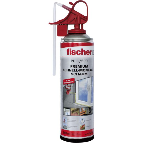 FISCHER 1K pjena za brzu montažu /PU 1/500 B3