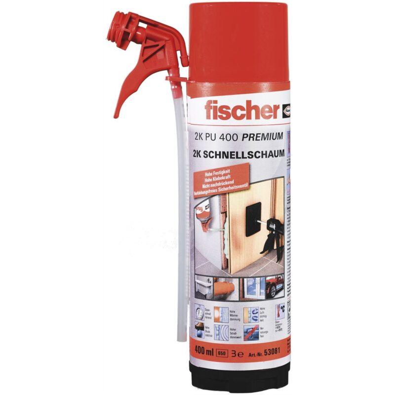 FISCHER 2K brzomontažna pjena PU 2/400 B2 400ml