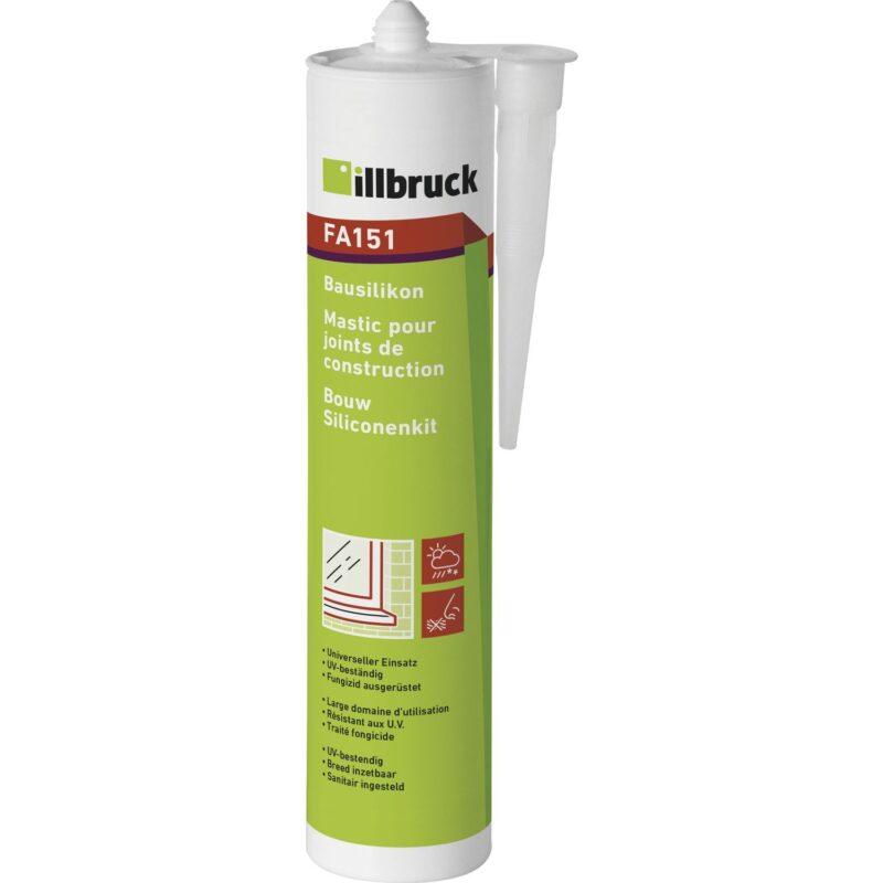 illbruck građevinski silikon FA151 310 ml, bijeli