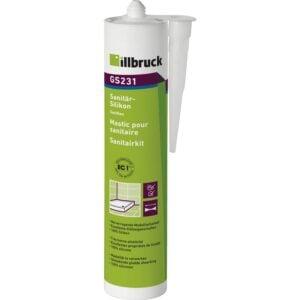 illbruck GS231 sanitarni i silikon za staklo 310ml crni