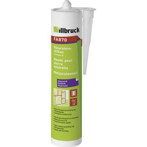 ILLBRUCK silikon za prirodni kamen FA870 310 ml proziran
