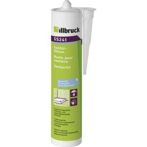 illbruck GS241 sanitarni i silikon za staklo 310 ml, svijeto sivi