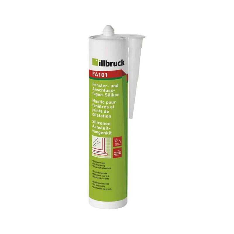 illbruck FA101 silikon za prozorske i priključne fuge 310ml bijela