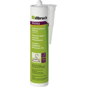 illbruck GS202 silikon za područja u dodiru s namirnicama 310 ml crni
