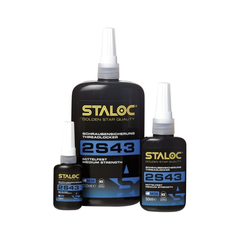 STALOC 2S43 brtvena masa za vijke srednja čvrstoća 50ml