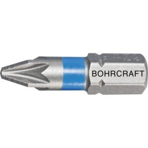 """BOHRCRAFT bit nastavak s oznakom u boji 1/4""""6-kutni PZ 1 dužina 25 mm"""