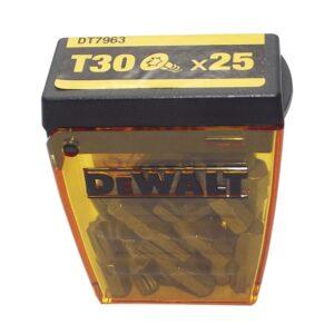 DEWALT kutija s bitovima DT7961 Torx 30 duljina 25 mm, sadržaj 25 komada