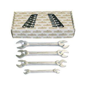 Set dvostrukih viličastih ključeva SOLIDO DIN3113A 6-22 mm, 8-dijelni