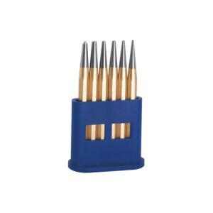 RENNSTEIG probijači - set, 8-kutni prihvat DIN 6458 6-dij. u kutiji