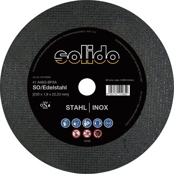 Ravna rezna ploča SOLIDO 115 x 1.0 mm, 2u1, tanka