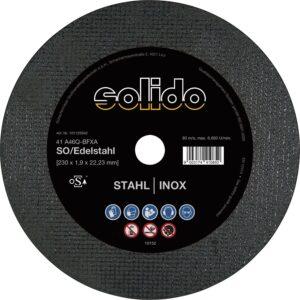 Ravna rezna ploča SOLIDO 125 x 1.0 mm, 2u1, tanka