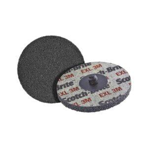 3M kompakt ploča Roloc XL-UR ø 76,2 mm granulacija 6 A med boja Braun