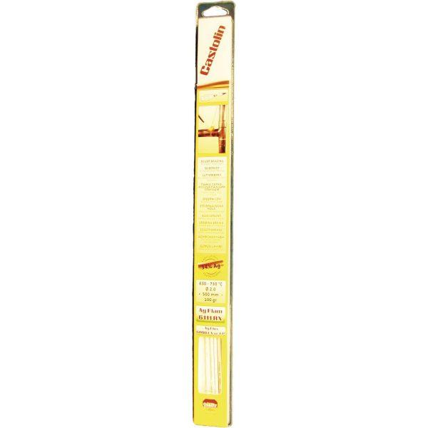 CASTOLIN Srebrni tvrdi lem 6111RX 34%, ø 2 mm, duljina 500 mm, sadržaj 100 g