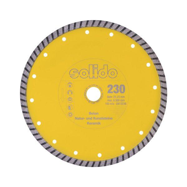 SOLIDO Dijamantna rezna ploča 230 x 2.4 mm beton, kamen, građev. mater.