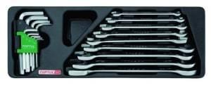 TOPTUL set alata - viličasti ključevi, Imbus ključevi