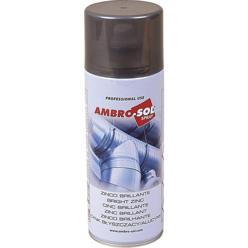 AMBRO-SOL cink sprej 400 ml sjajni / svjetlosivi