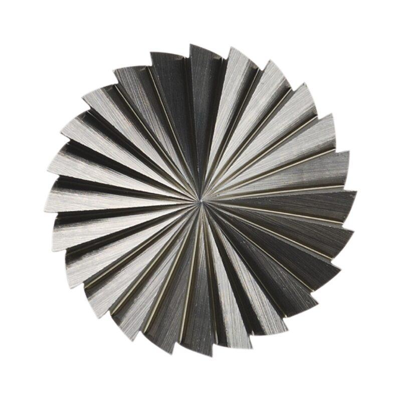 LUKAS HSS-glodalo, oblik A cilindr., glava ø 12 mm, duljine 25 mm zub 3