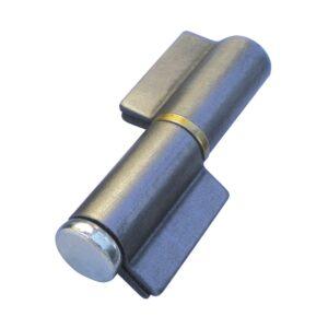 Spojnica za zavarivanje 2-dj. I-preklop,klin 16 mm s prst.od mesinga,čel.neobr.