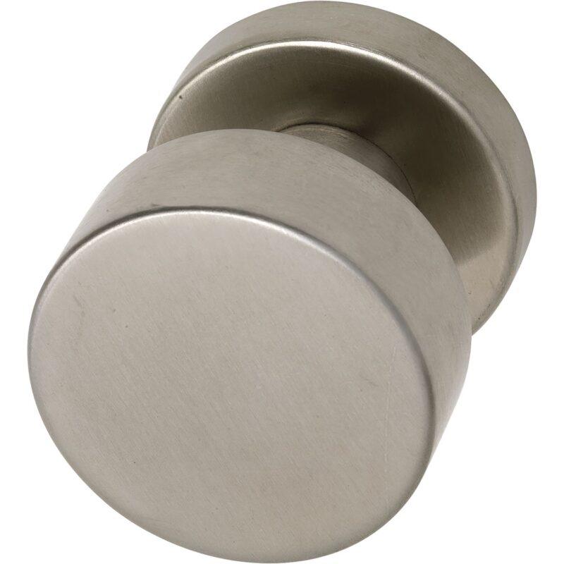 Kugla za vrata ravni oblik, sa rozetom, ø 50, fiks. na rozeti 50x11, neh. č. mat