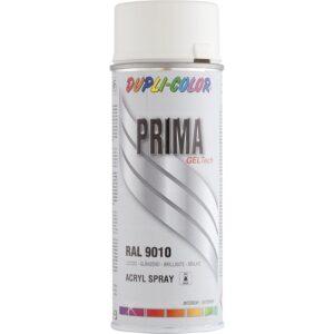 Dupli-Color lak sprej 400ml čisto bijeli / RAL 9010