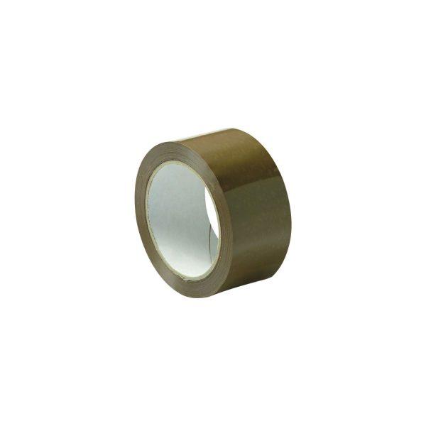 Ljepljiva traka PVC 30mm/66m smeđa