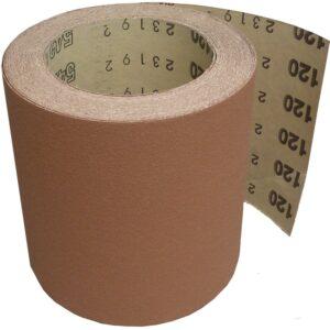 Brusni papir u kolutu STARCKE, š. 115 mm, granulacija 120, 1 kolut=10 metara