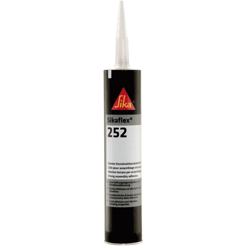 Sikaflex-252 300ml RAL3000 vatreno crvena