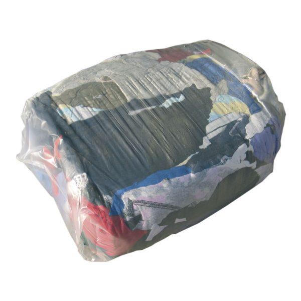 Trikotažne krpe za čišćenje, svijetle, šarene, 10 kg