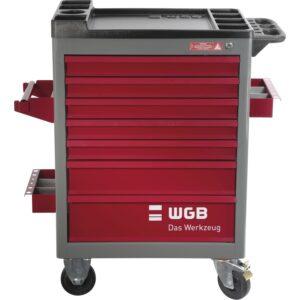 WGB kolica za alat model 142, 7 ladica, 470 x 670 x 970 mm